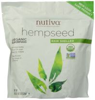 Nutiva Organic Hempseed, Raw Shelled, 19 Ounce