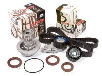 Evergreen TBK335WP Compatible With 04-08 Chevrolet Aveo 1.6L VIN 6 E-TEC II Timing Belt Kit GMB Water Pump