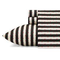 Betsey Johnson Wonderland Stripe Sheet Set, Queen