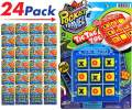 Tic Tac Toe Travel Portable Pocket Board Games (Pack of 24) by JARU. Assortment of Classic Toys Party Favors Toy| Item #3256-24