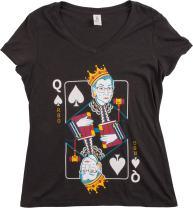 Queen R.B.G. Funny Progressive Liberal Ruther Bader Ginsburg Women RBG T-Shirt