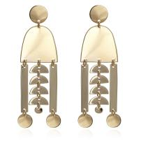 """"""" Pretty Bold"""" Geometric Layered with Gold or Silver Rhodium Plated Statement Earrings"""
