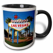 3dRose Welcome To Fabulous Las Vegas, NV Mug, 11 oz, Black