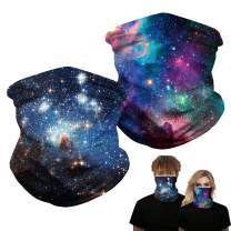 Neck Gaiter Face Mask Unisex Headwear Bandana, Multifunctional Seamless Balaclava Magic Scarf for Outdoors, Sports