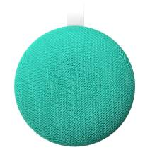 Aduro Wireless Portable Bluetooth Speaker, IPX4 Water Resistant Compact Indoor/Outdoor Speaker with Built-in-Mic (Green/White)