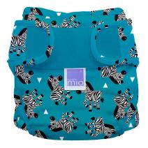 Bambino Mio, Miosoft Cloth Diaper Cover, Zebra Crossing, Size 1 (<21lbs)