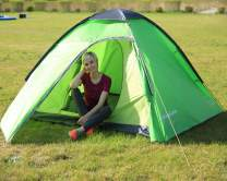 KingCamp Instant Pop Up Camping Tent Easy Set Up in 60 Seconds, Lightweight Portable 2-4 Person Waterproof Automatic Dome Tent with Carrying Bag for Backpacking, Picnic, Hiking