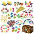 iBaseToy 120Pcs Carnival Prizes for Kids Classroom, Party Favor Toy Assortment, Prizes for Kids Party Games, Birthday Patry Favors for Boys Grils, Bulk Pinata Fillers Treasure Box Goodie Bag Fillers
