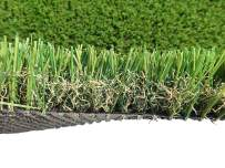 PZG Commerical Artificial Grass Patch w/ Drainage Holes & Rubber Backing   Extra-Heavy & Durable Turf   Lead-Free Fake Grass for Dogs or Outdoor Decor   Total Wt. - 103 oz & Face Wt. 75 oz   12' x 10'