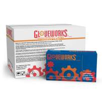 GLOVEWORKS Industrial Beige Latex Gloves - 4 mil, Powder Free, Textured, Disposable, Small, TLF42100, Case of 1000