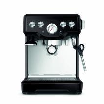 Breville BES840BSXL The Infuser Espresso Machine, Black Sesame, 2.3