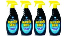 Invisible Glass Spray Window & Glass Cleaner 4 pack