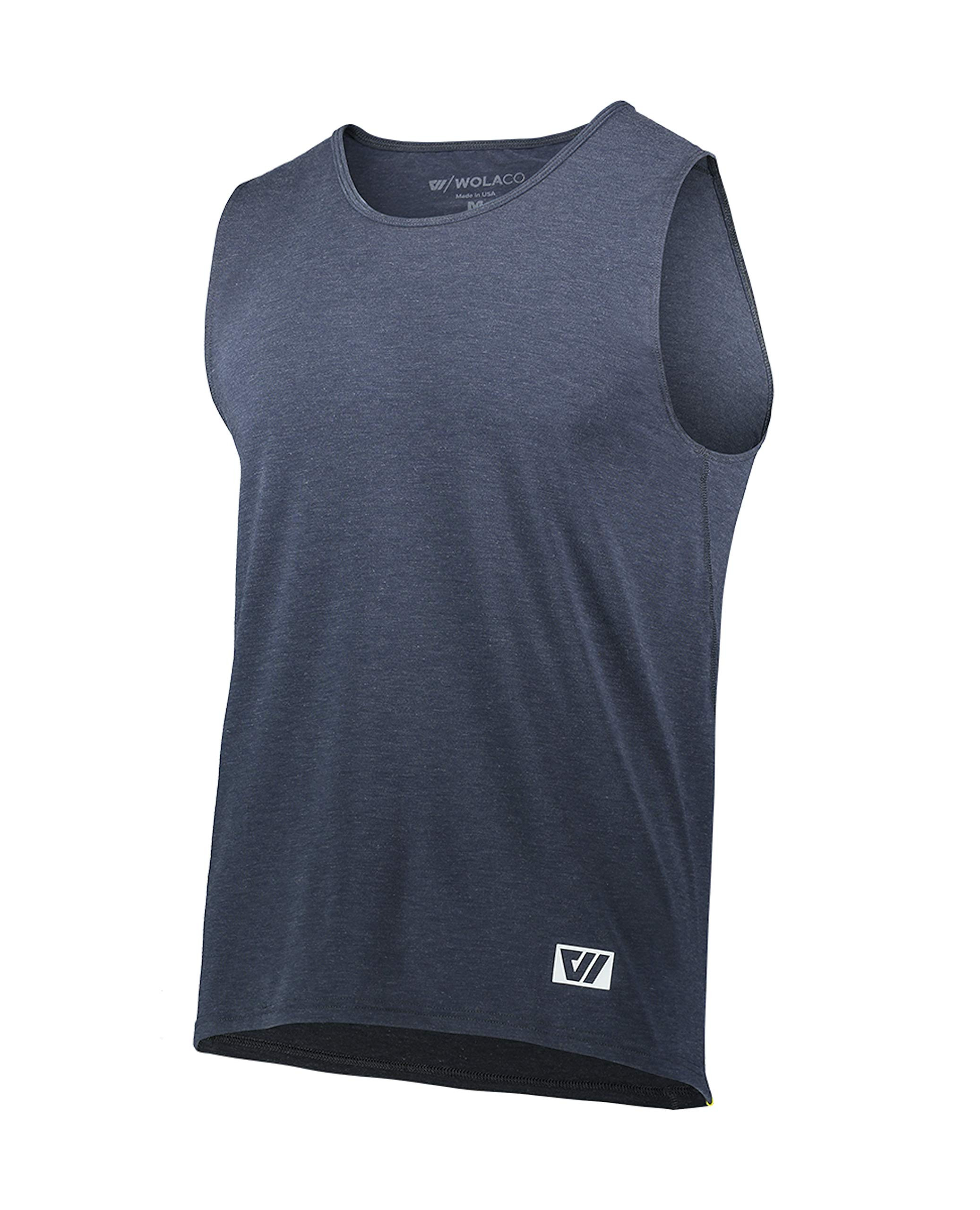 WOLACO Clinton Featherweight Technical Athletic/Performance Men's Tank Top,