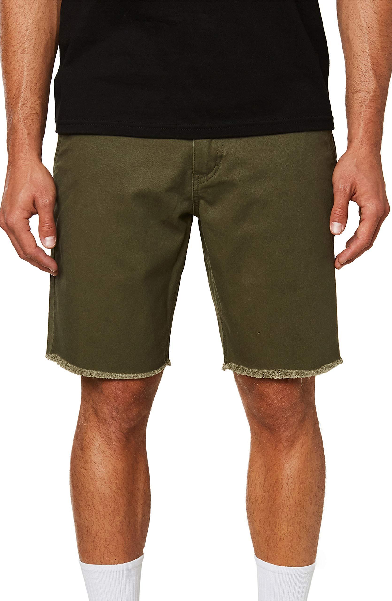 O'Neill Men's Standard Fit Walk Short, 19 Inch Outseam