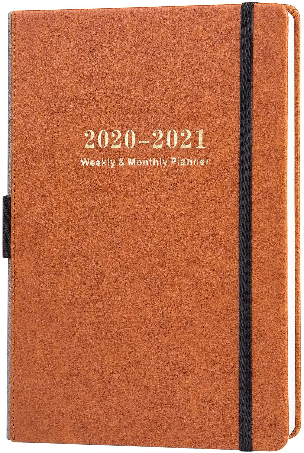 """2020-2021 Planner - Academic Planner, Jul 2020 - Jun 2021, Weekly & Monthly, 5.75"""" X 8.25"""", Calendar Stickers, A5 Premium Thicker Paper with Pen Holder, Inner Pocket and 88 Notes Pages"""