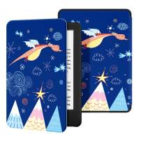 Ayotu Slim Case for All-New Kindle(10th Gen, 2019 Release) - PU Leather Cover with Auto Wake/Sleep-Fits Amazon All-New Kindle 2019(Will not fit Kindle Paperwhite or Kindle Oasis),The Adorkable Dragon