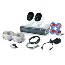Swann 2 Camera 4 Channel 1080p DVR Security System   1TB HDD, Heat & Motion Sensing + Night Vision