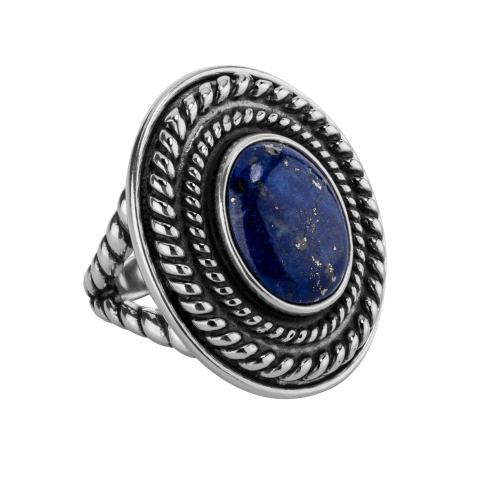 Interchangeable ring with 10-8mm semi precious stones