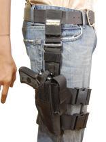 Barsony New Tactical Leg Holster for Full Size 9mm 40 45