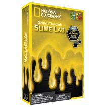 NATIONAL GEOGRAPHIC Slime DIY Science Lab – Make Gooey Glowing Slime (Yellow)