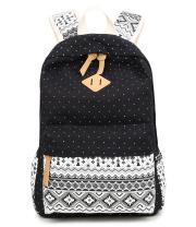 Abshoo Cute Lightweight Canvas Bookbags School Backpacks for Teen Girls