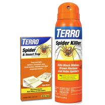 TERRO T2302-3200 Spider Killer Spray and Spider and Insect Traps (Not available in AK, HI, NM, PR)