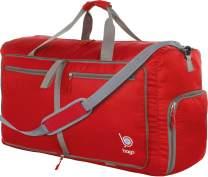 "Bago 60L Packable Duffle bag for women & men - 23"" Foldable Travel Duffel bag"