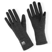 MERIWOOL Merino Wool Glove Liners - Touchscreen Compatible