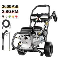 TEANDE Gas Pressure Washer 212CC Gas Powered Power Washer for Cars Fences Garden,3600 PSI at 2.8 GPM