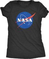 NASA Space Program Meatball Logo Women's Tri-Blend T-Shirt