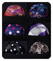 HISDERN 6 Piece Assorted Woven Men's Pocket Square Handkerchief Wedding Gift