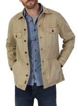 Faherty Men's Garment Dyed Corporal Jacket in Tan