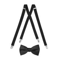 Suspender & Bow Tie Set