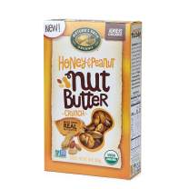 Nature's Path Honey and Peanut Nut Butter Crunch Cereal, Healthy, Organic, 10 Ounce Box (Pack of 6)