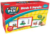Teacher Created Resources Power Pen Learning Cards: Blends & Digraphs