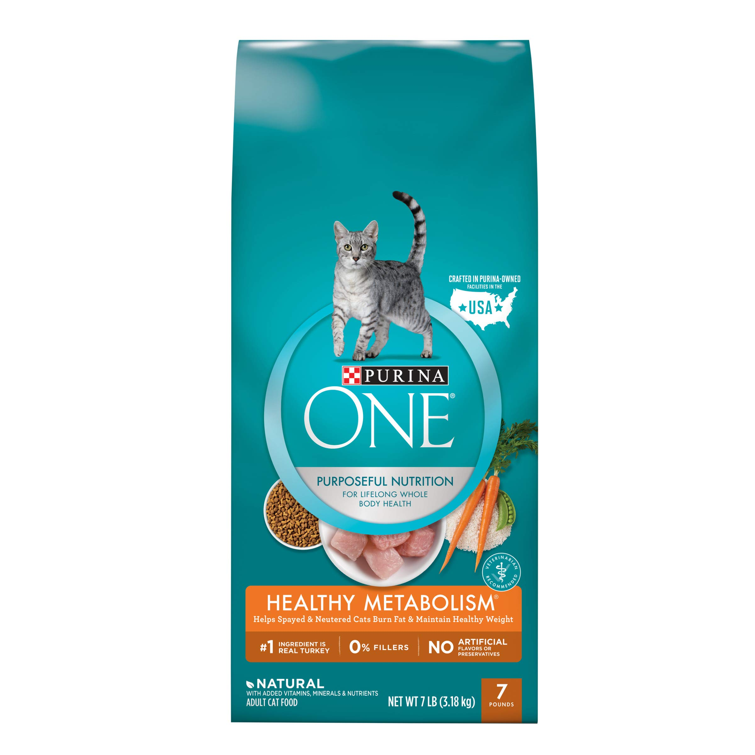 Purina ONE Healthy Metabolism Adult Dry Cat Food