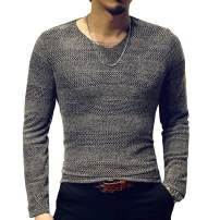 LOGEEYAR Mens Fashion Classic Fitted Mesh Shirts Short-Sleeve V-Neck T-Shirt