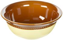 Paula Deen Dinnerware Southern Gathering 10-Inch Stoneware Serving Bowl, Chestnut