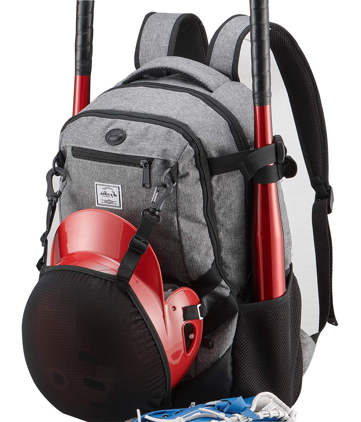 normal Baseball Bag - Basketball Backpack for Soccer Volleyball Football Softball Equipment & Gear for Youth and Adults with Shoes and Ball Compartment