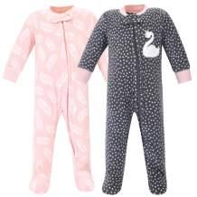 Hudson Baby Unisex Baby Fleece Sleep and Play