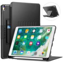 Blavor Case for iPad Case 10.5 Magnetic Stand Full Body Protective Rugged Shockproof Case with Holder Auto Sleep, Wake Built-in iPad Pencil Holder Convenient Magnetic Stand Black