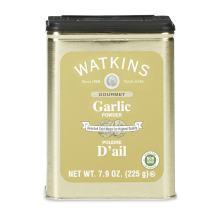 Watkins All Natural Gourmet Garlic Powder Spice Tin, 7.9 Ounce, 6 Count