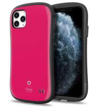 iFace First Class Series iPhone 11 Pro Max Case – Cute Dual Layer [TPU and Polycarbonate] Hybrid Shockproof Protective Cover for Women [Drop Tested] - Hot Pink
