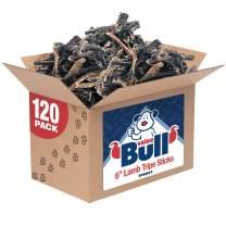 ValueBull Lamb Tripe Sticks, Premium 4-6 Inch, 120 Count - All Natural Dog Chews, Grass-Fed, Single Ingredient