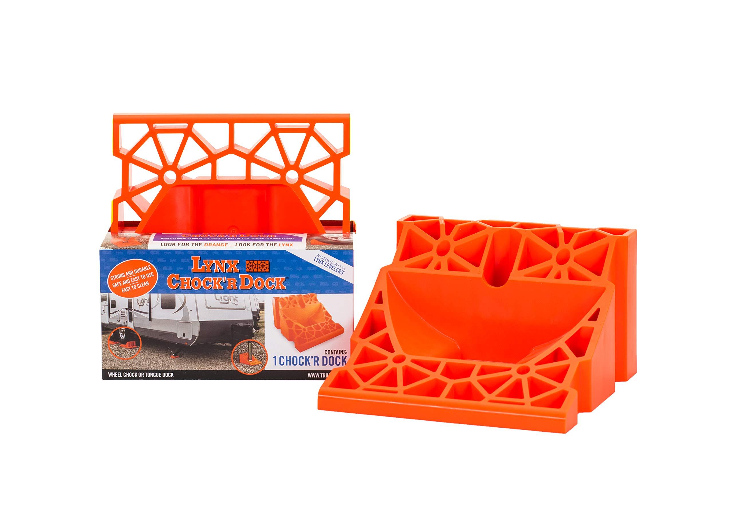 Tri-Lynx 00030 Chock 'R Dock,Orange