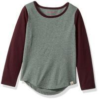 Burt's Bees Baby Baby Girls' T-Shirt, Long Sleeve Tee, Crew Neck Undershirt, 100% Organic Cotton