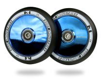 ROOT INDUSTRIES AIR Wheels 110mm - 120mm Pro Scooter Wheels Pair - Fits Most Setups - 24mm x 110mm - 120mm - Bearings Installed - 90 Day Warranty - Scooter Wheels