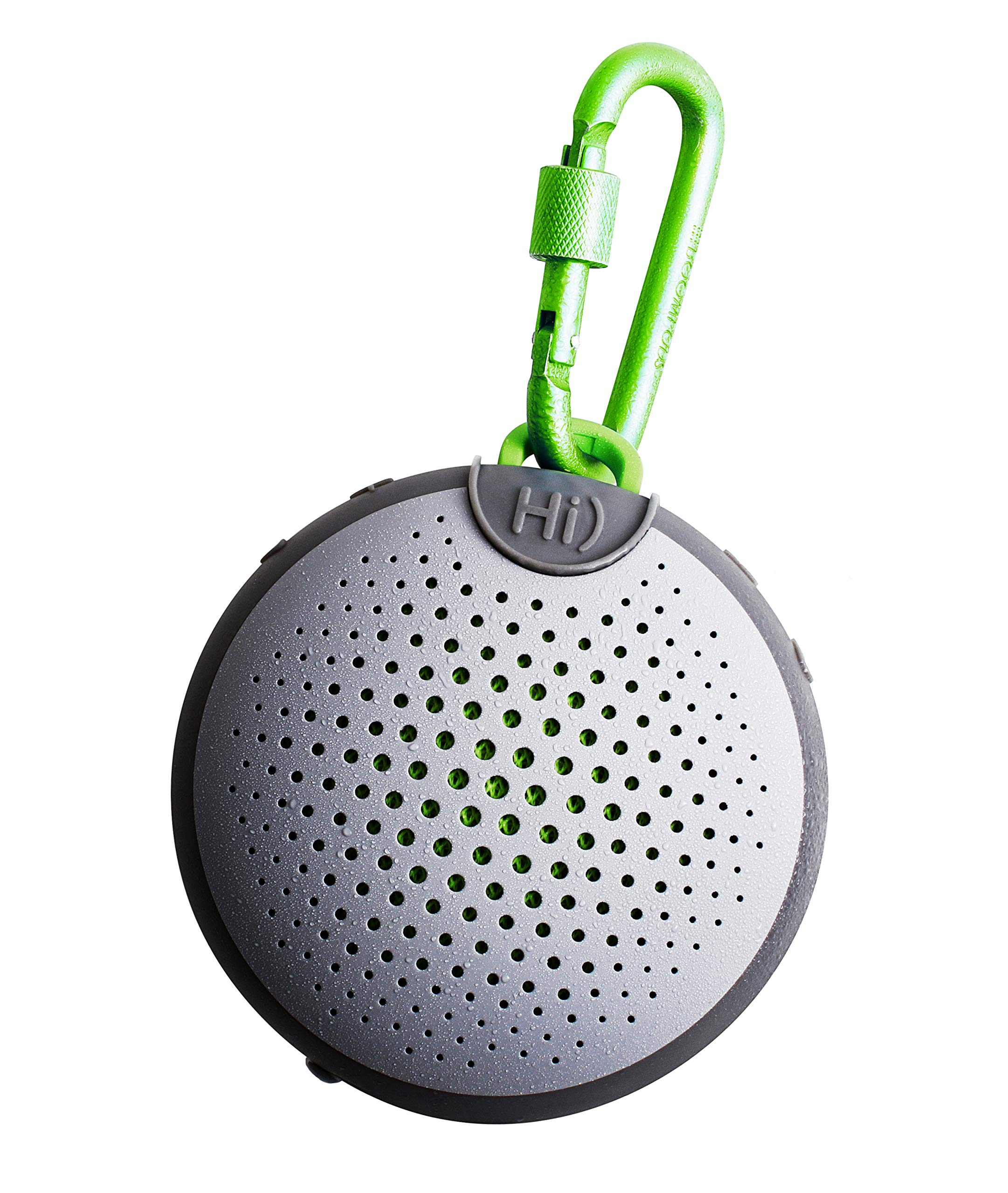BOOMPODS AQUABLASTER - Waterproof Bluetooth Portable Wireless Speaker with Amazon Alexa - Hi-Quality Sound - Awesome Listening in Shower at The Pool or The Beach with Over 5-Hours of Active Playtime