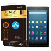 Ailun Screen Protector for Fire HD 8 2Pack 2018 2017 2016 Release 2.5D Edge Tempered Glass 9H Hardness Ultra Clear Anti-Scratch Case Friendly