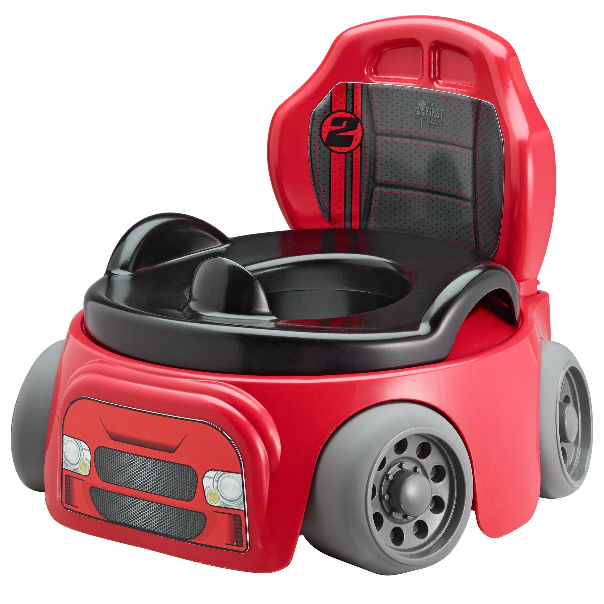 The First Years Training Wheels Racer Potty System | Easy to Clean and Easy to Use Potty Training Seat
